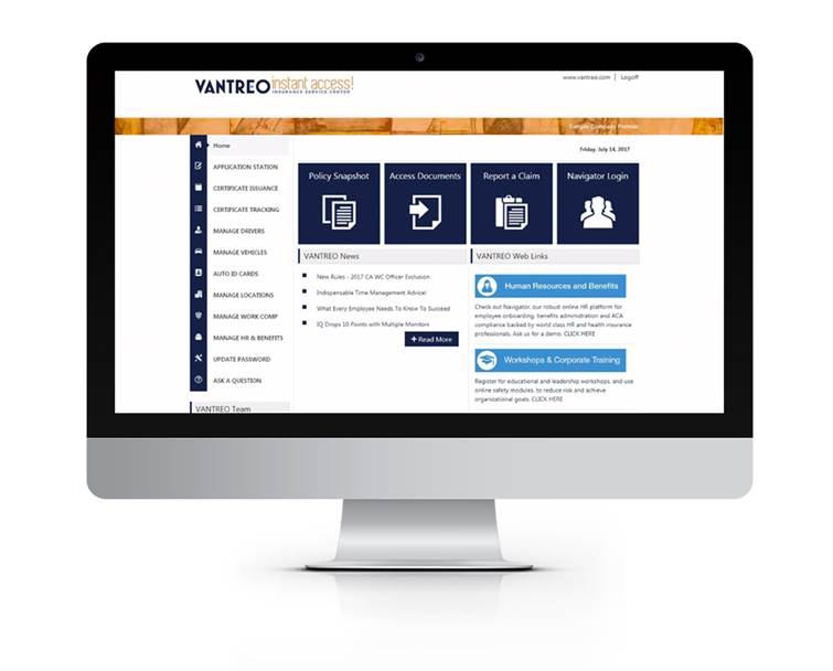 BenefitsRX employee benefits dashboard